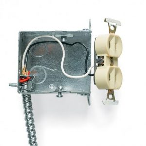 Home Electrical Safety, two-prong receptacle, Lucent Home Inspections