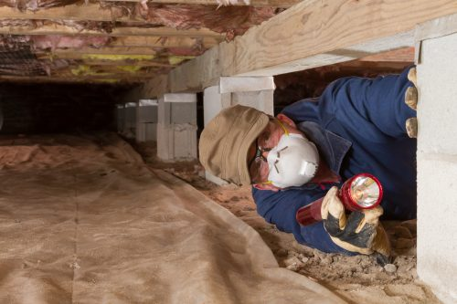 Home inspector in the crawl space. How long does a home inspection take?