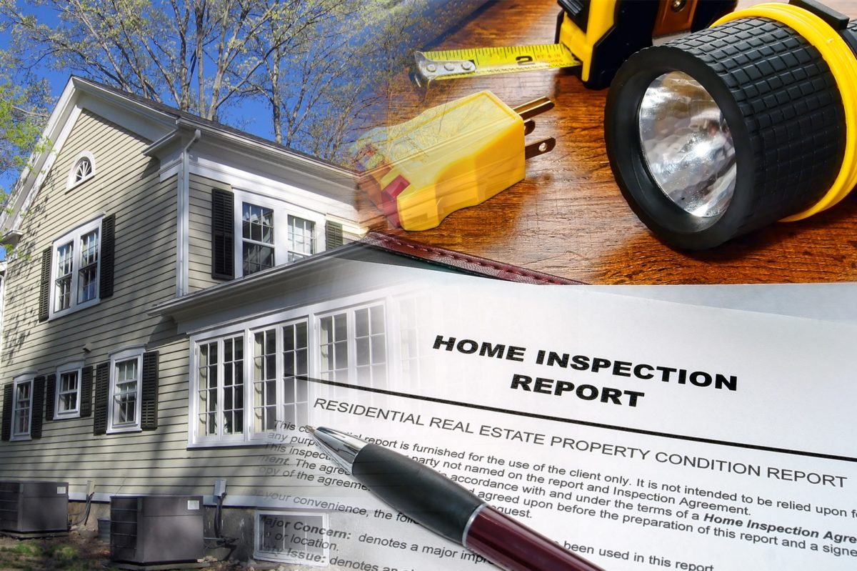 house with home inspection report