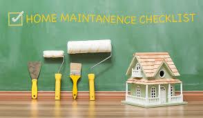 home maintenance in Illinois checklist