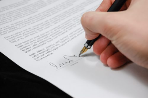 form being signed for seller disclosure in illinois